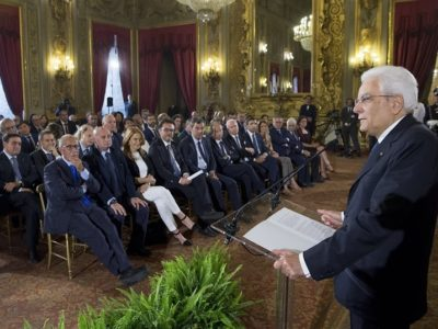 Mattarella all'Università di Cagliari