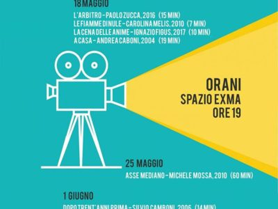 Orani, cinema per riflettere