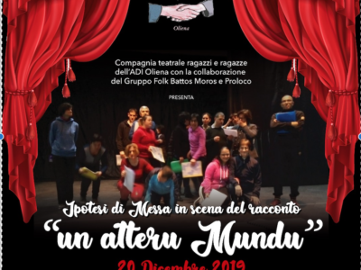 Spettacolo teatrale a Oliena